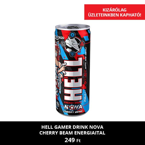 HELL Gamer Drink Nova Cherry Beam