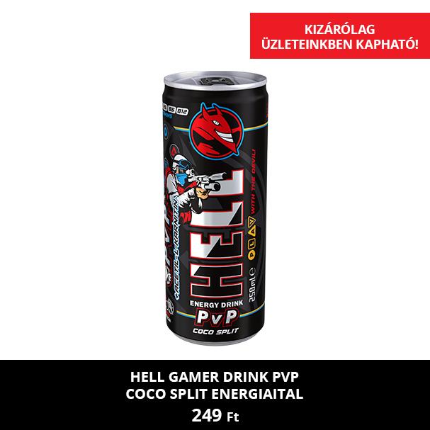 HELL Gamer Drink PvP Coco Split
