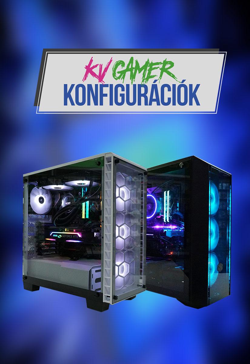 KV Gamer konfigurációk