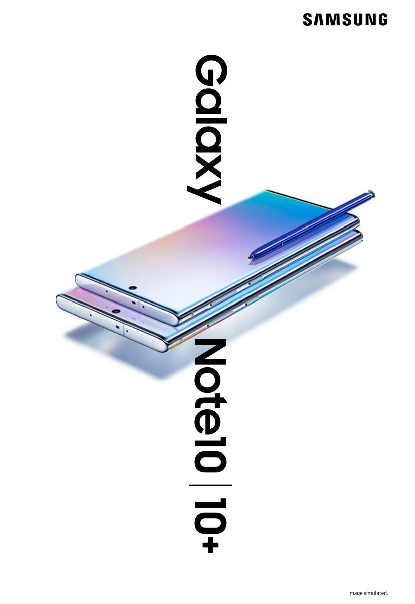 Samsung Galaxy Note10 és Note10+ előrendelés
