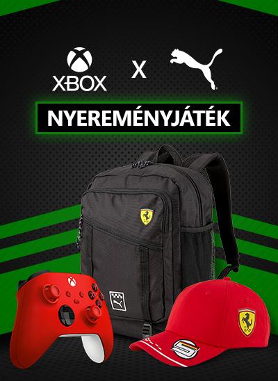 Xbox Puma Nyereményjáték