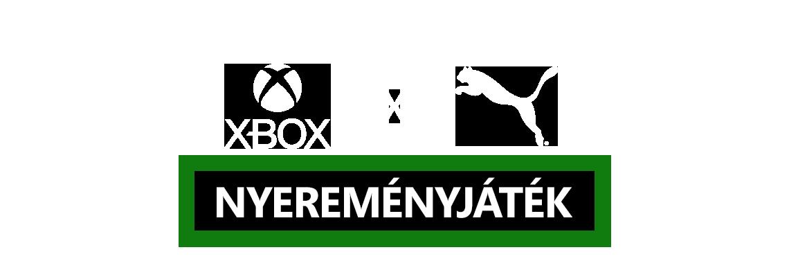 Xbox Puma Nyereményjáték logo