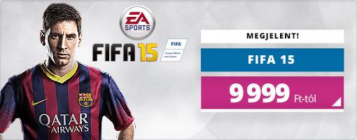 Pályára lépett a FIFA 15, jönnek a látványos gólhelyzetek!