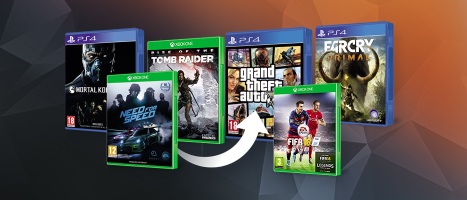 Most becserélheted megunt  konzolod és videojátékaidat