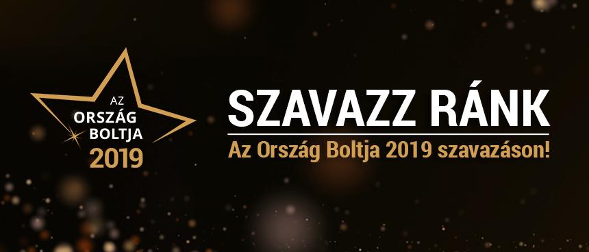 Támogass minket az Ország Boltja 2019 versenyen!