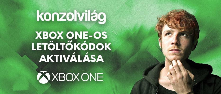 Digitális játékkód beváltása az Xbox Live-on