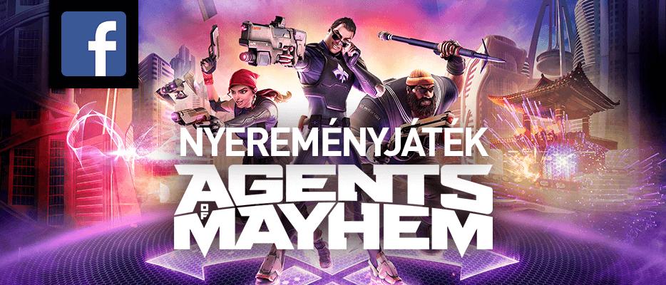 Agents of Mayhem nyereményjáték