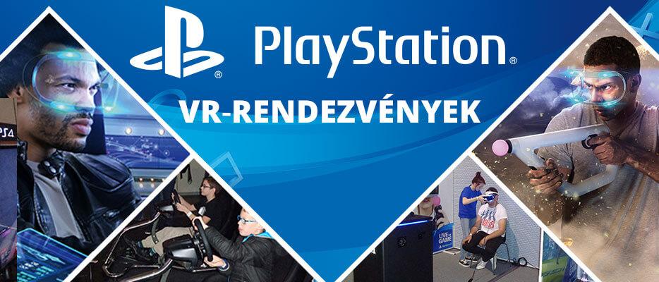 Gyere, és próbáld ki te is a PlayStation VR-t!