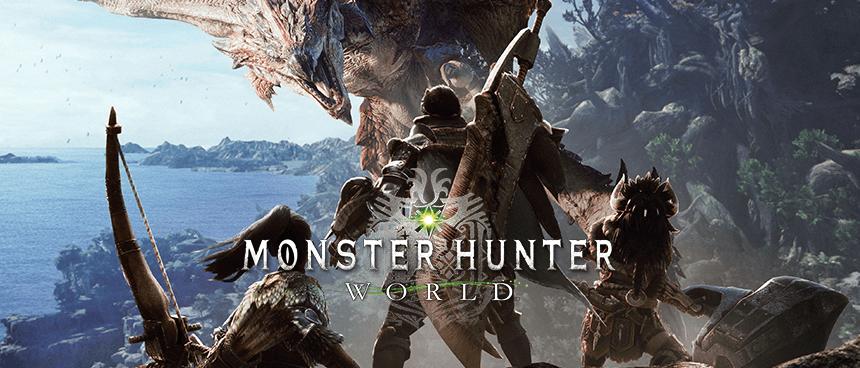 Előrendelhető a Monster Hunter: World