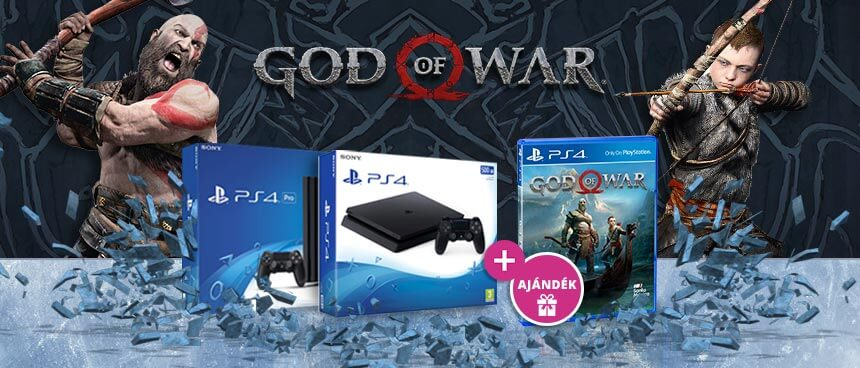 God of War PS4 akció
