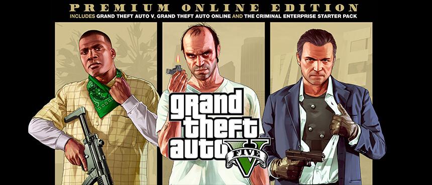 Grand Theft Auto V Premium Online Edition a Konzolvilágnál!
