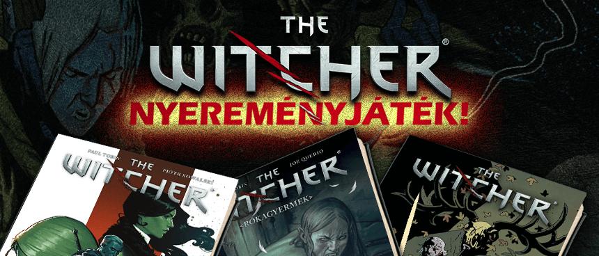 [LEZÁRULT] The Witcher / Vaják könyv Facebook nyereményjáték