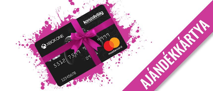 Ajándékozz Konzolvilág Mastercard bankkártyát!
