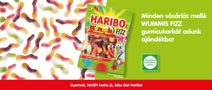 Ajándék HARIBO Wummis F!ZZ minden vásárlónknak!