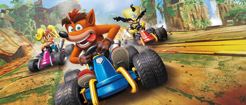 Crash Team Racing – Újra tele a tank!