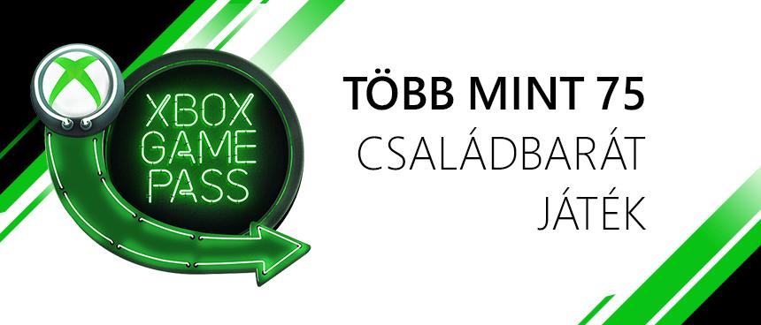 Gyerekbarát játékok Xbox Game Pass-ban