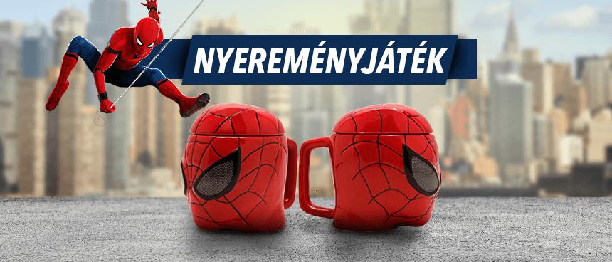 [LEZÁRULT] Spider-Man bögre Facebook nyereményjáték