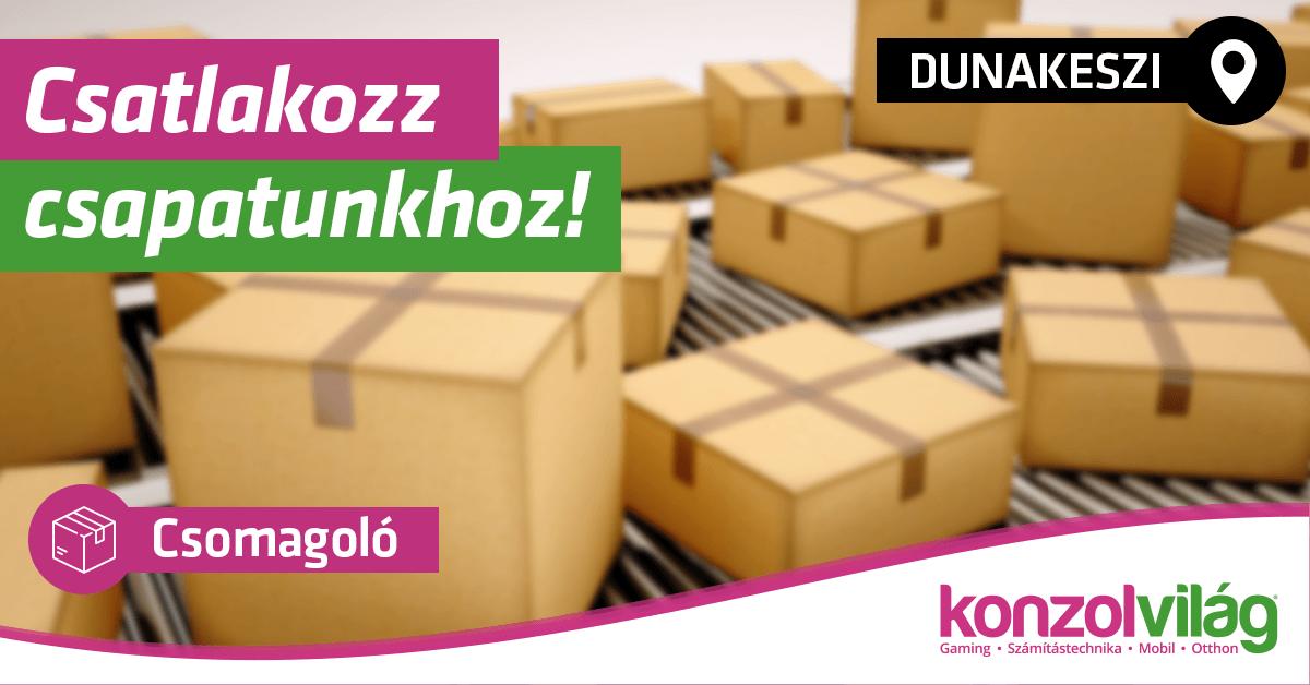 Csomagoló - Dunakeszi