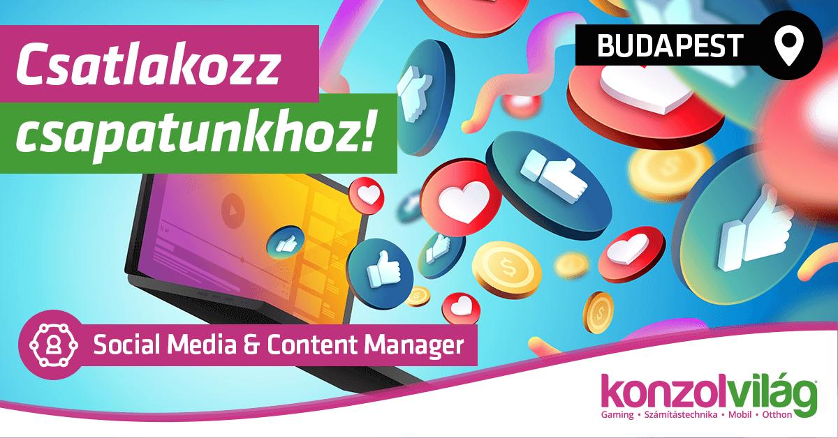 Social Media & Content Manager