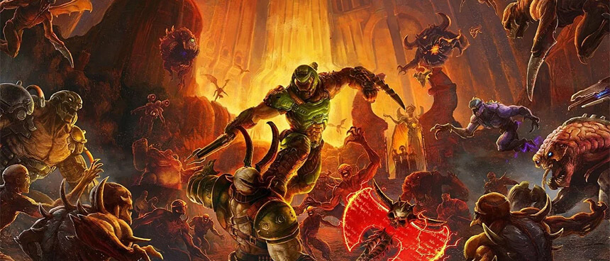 DOOM Eternal – Dúld fel a Poklot!
