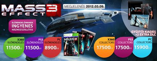 Mass Effect 3 ajánló