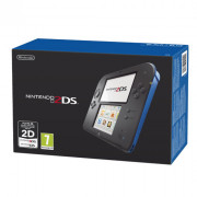 Nintendo 2DS (Black és Blue) + New Super Mario Bros. 2 3 DS