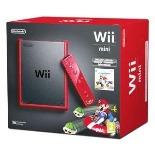 Nintendo Wii Mini (Piros) + Mario Kart Bundle