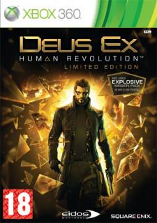 Deus Ex Human Revolution (Limited Edition) (használt) XBOX 360
