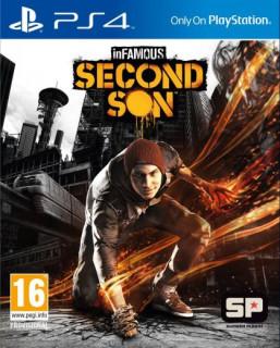 inFamous Second Son (használt) PS4
