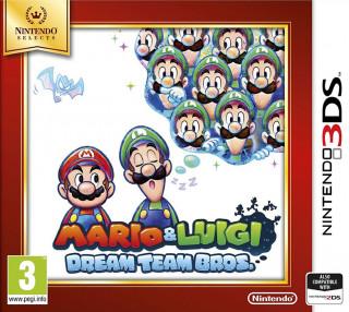 Mario & Luigi Dream Team Bros. 3DS