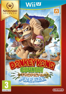 Donkey Kong Country Tropical Freeze WII U