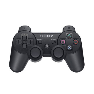 PlayStation 3 (PS3) Dualshock 3 Kontroller (Fekete) (használt) PS3