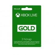 Xbox Live Gold 3 hónapos előfizetés MULTI