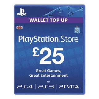 PSN Network kártya 25 Font (PSN Network Card - UK) MULTI