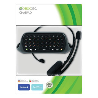 Xbox 360 Chat Pad + Headset Xbox 360