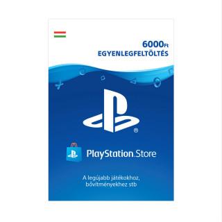 PlayStation Store ajándékkártya 6000 Ft (PS Store Card - HU)
