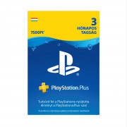 Playstation Plus kártya 3 hónapos (PSN Plus) MULTI