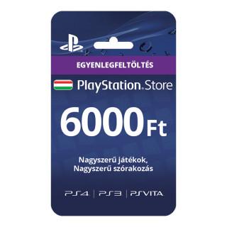 PSN Network kártya 6000 Ft (PSN Network Card - HU) MULTI