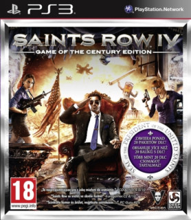 Saints Row IV (4) Game of the Century Edition PS3