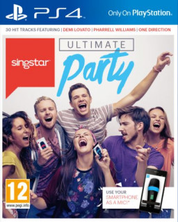 SingStar Ultimate Party (használt) PS4