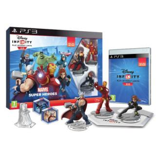 Disney Infinity 2.0 Marvel Super Heroes Starter Pack PS3
