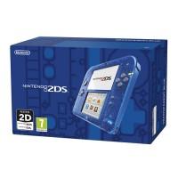 Nintendo 2DS (Átlátszó, kék) 3DS