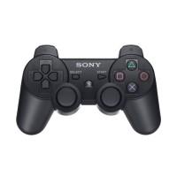 Sony Playstation 3 (PS3) Dualshock 3 Wireless (Vezeték nélküli) Controller (Fekete színben) PS3