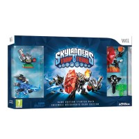Skylanders Trap Team Dark Edition Starter Pack Wii