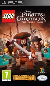 LEGO Pirates of the Caribbean: The Video Game PSP