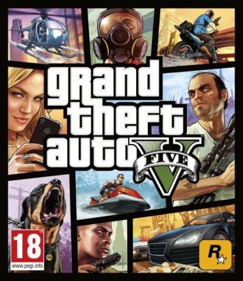 Grand Theft Auto V (GTA 5) Xbox One