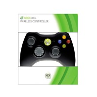 Xbox 360 Wireless (Vezeték nélküli) Controller (Fekete színben) Xbox 360