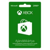 Xbox Live Feltöltőkártya (2990 HUF) Xbox 360