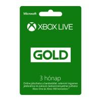 Xbox Live Gold 3 hónapos előfizetés Több platform