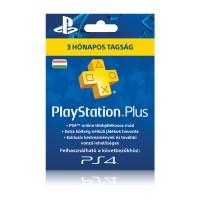 Playstation Plus kártya 3 hónapos (PSN Plus) Több platform